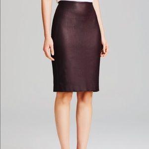 Diane Von Furstenberg Marta Pencil Skirt in Brown